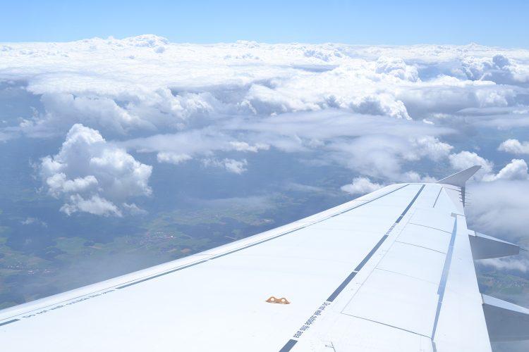 Flugzeugflügel Fotografie