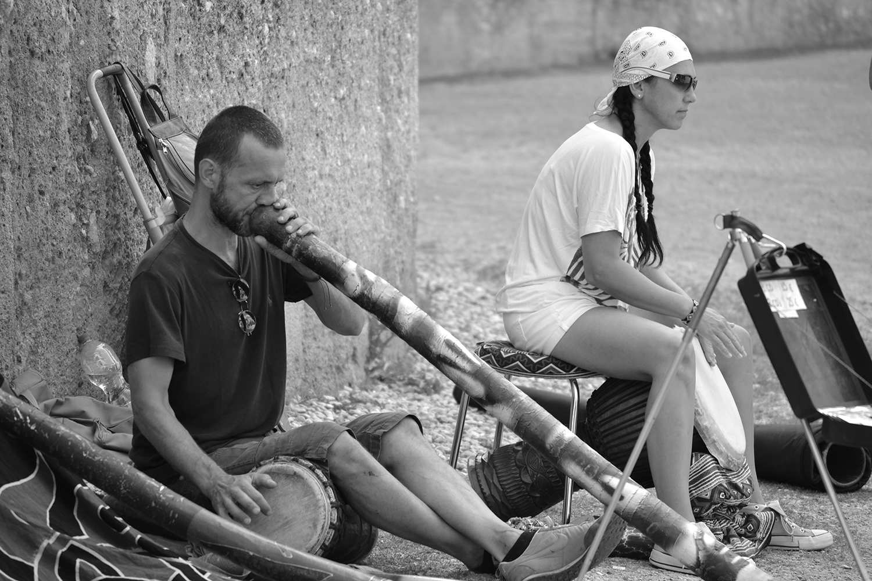 Street Musiker Fotografie