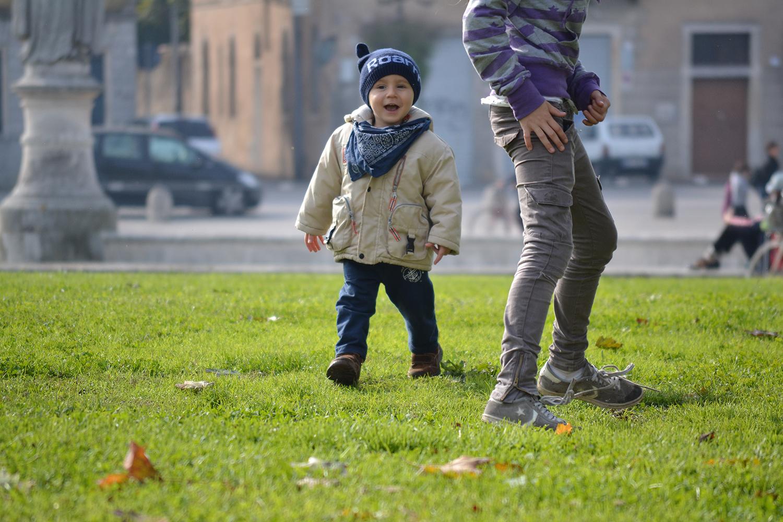 Kinder spielen Fotografie